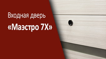 Стальная дверь «Маэстро 7Х»